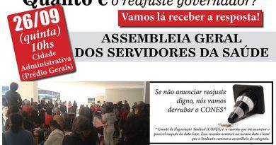 Assembleia dia 26 cartaz