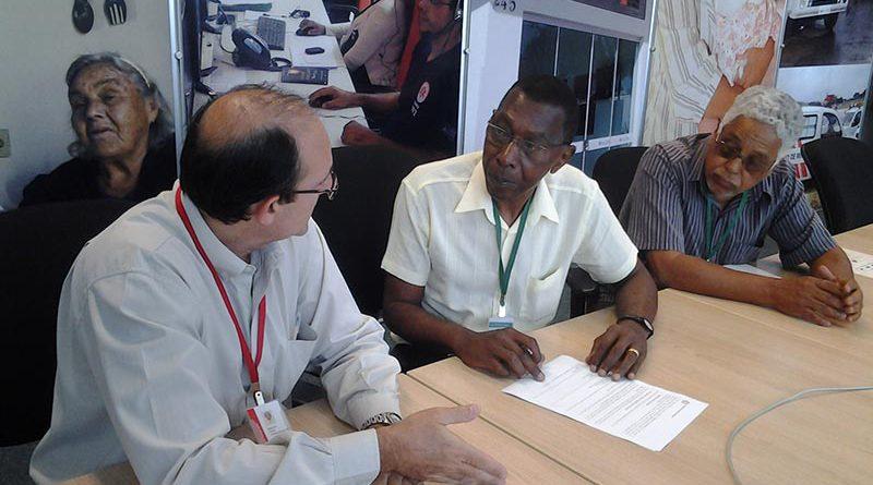 assinatura do acordo