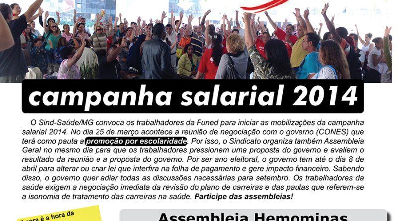 assembleia Hemominas Cartaz