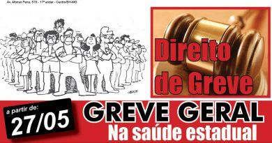 chamada direito de greve FB