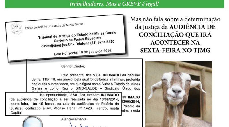 governo judicializa