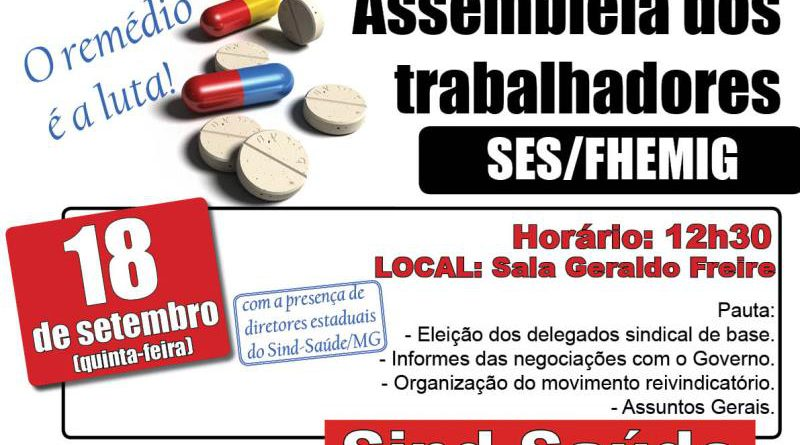 cartaz assembleia SESFHEMIG18-09
