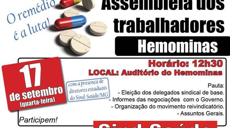 cartaz assembleia hemominas17-09