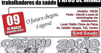 cartaz assembleia geral Patos de Minas 09-03