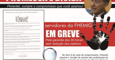 Cartaz compromisso Pimentel red