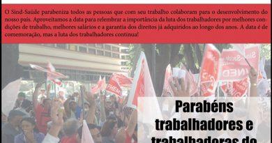 Dia do trabalhador red