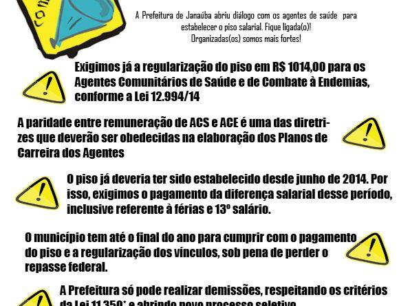 informativo janauba ACS ACES