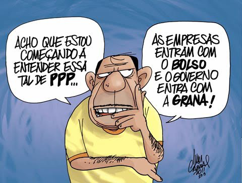 As tais ppps - charge