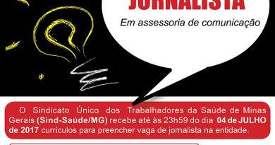 vaga jornalista 2017 1