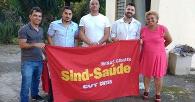 Novos delegados sindicais Raul