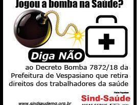 adesivo Decreto Bomba
