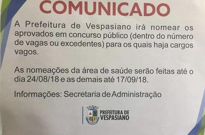 14 TAC Concurso Vespasiano