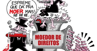 charge moer direitos