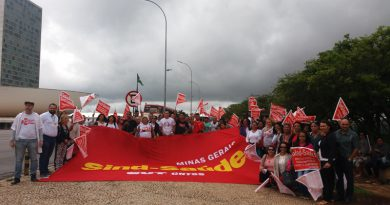 Chegada em Brasília