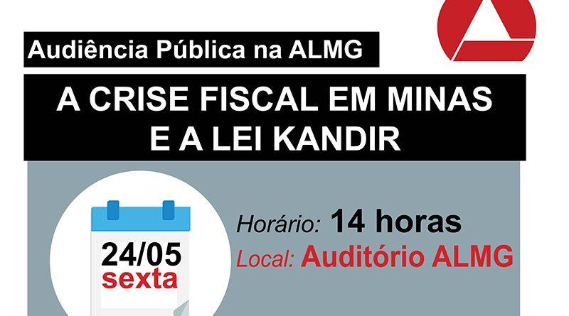 Chamada Audiencia Crise Fiscal