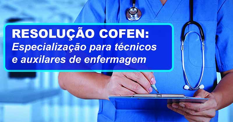 2019 Resolução Cofen especializa tecnico