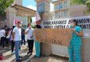 Servidores do Hrad manifestam contra transferência do hospital para setor privado