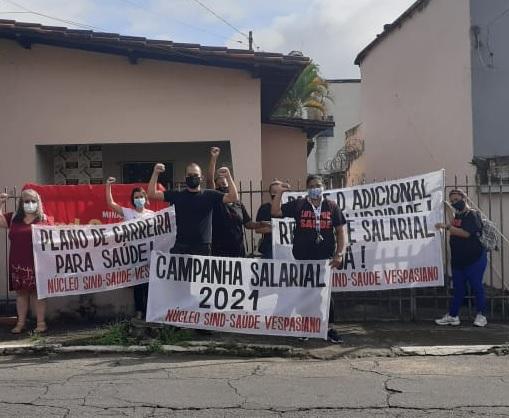 Salário dos trabalhadores da saúde de Vespasiano é o pior entre cidades da Região Metropolitana de BH