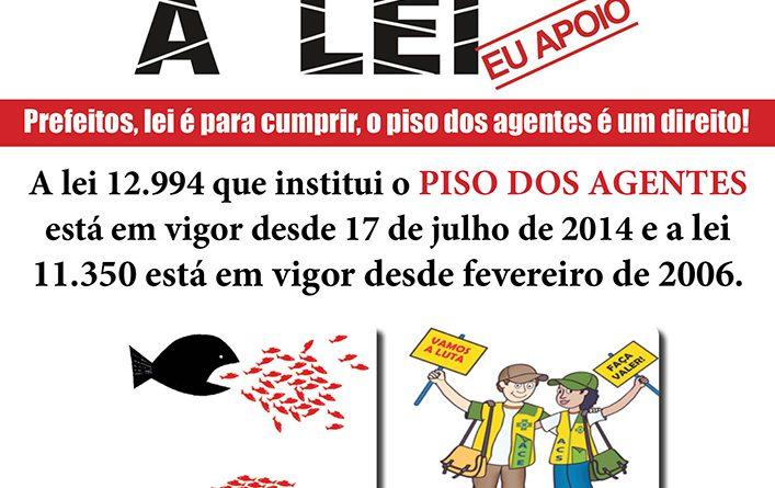 Cartaz campanha Nacional piso leis site